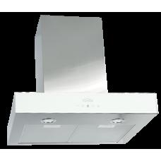 Elikor Агат 60Н-1000-Е4Г нерж. сталь/белое стекло