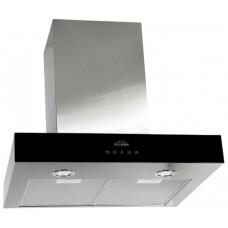 Elikor Агат 60Н-1000-Е4Г нерж. сталь/черное стекло